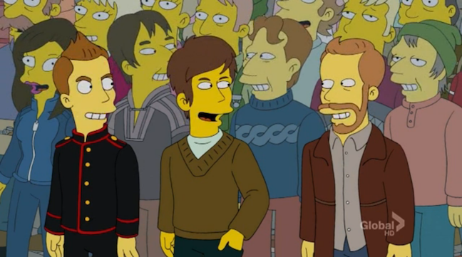 "Sigur Rós on ""The Simpsons"""